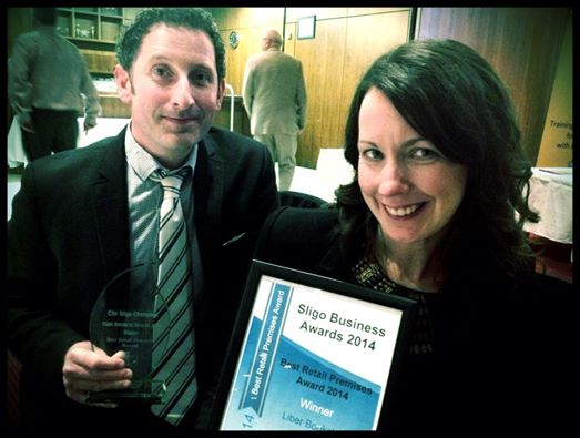 Ailbhe & Brian Sligo Business Award's Winner 2014