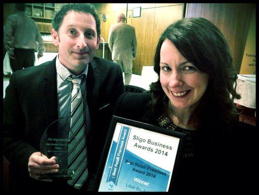 Ailbhe & Brian Sligo Business Award's Winner 2014